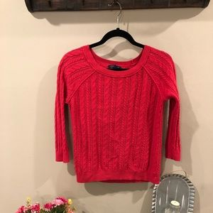 American Eagle 3/4 sleeve knit sweater.